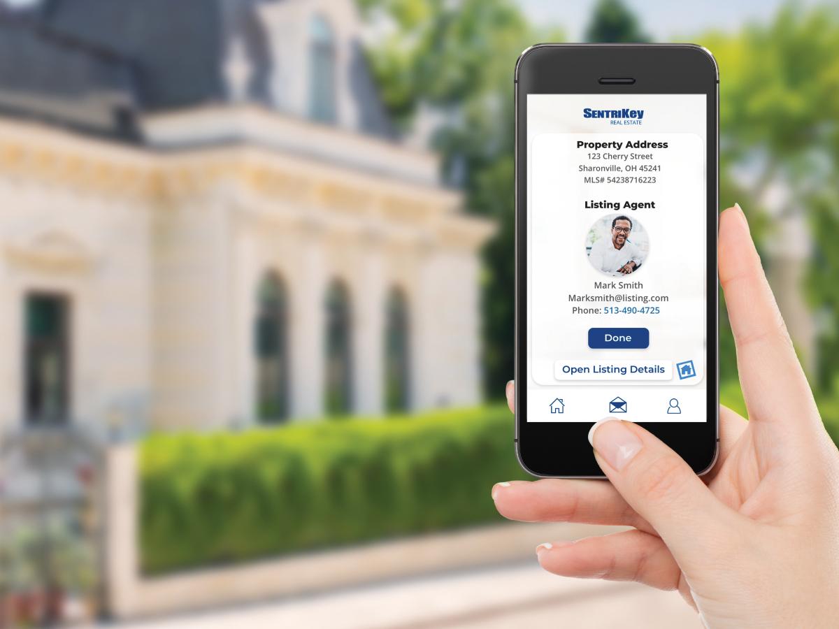 SentriKey Real Estate Mobile App flyer Thumbnail